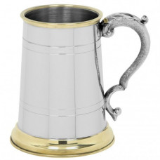 [EP049] 1 Pint Pewter Tankard