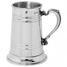 [XH202] 1 Pint Pewter Tankard