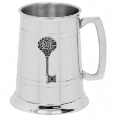 [EP039] 1 Pint Pewter Tankard