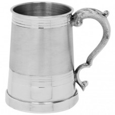 [EP060] 1 Pint Pewter Tankard