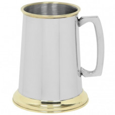 [EP150] 1 Pint Pewter Tankard