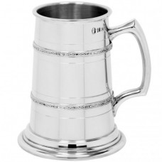 [HG161] 1 Pint Pewter Tankard