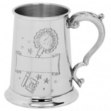 [TS318] 1 Pint Pewter Tankard