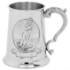 [TS321] 1 Pint Pewter Tankard