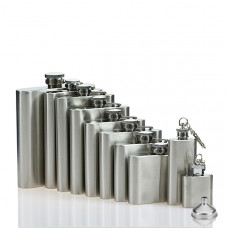 Hip  Flasks, Stainless Steel