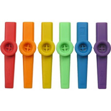 Coloured Plastic Kazoo Single