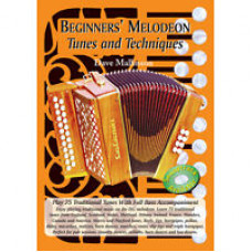 Beginners' Melodeon Tunes and Techniques Book and CD - Dave Mallinson